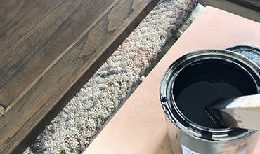 staining and paint matching